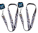 Totoro 2pc Lanyard Multi-purposes Holder - Totoro Lanyards - Grey