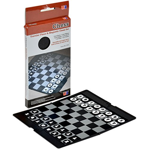 Travel Magnetic Chess Wallet Set - 7-7/8''