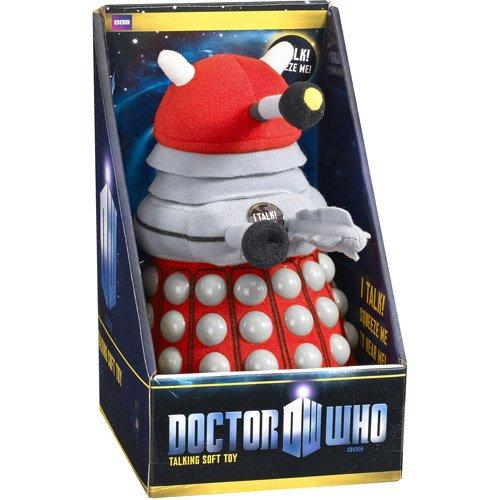 "Doctor Who 9"" Talking Plush Toy, Red Dalek - 1"