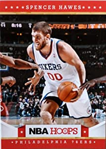 2012-13 Panini Hoops #28 Spencer Hawes Trading Card in a Protective Case -... by Hoops