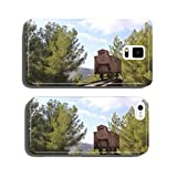 Holocaust train at Yad Vashem in Jerusalem cell phone cover case Samsung S6