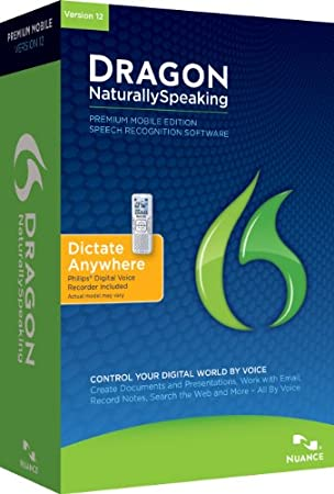 Dragon NaturallySpeaking Premium 12.0, Mobile (PC)