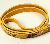 MiniPetty Laisse Pet Dog Pet Supplies magasins d'usine de serpent modèle animal en laisse chien en laisse , yellow , 123 * 2...