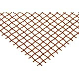 Copper Woven Mesh Sheet, Unpolished (Mill) Finish, Standard Tolerance, Inch, ASTM E2016-06