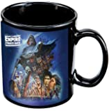 Vandor 99061 Star Wars Empire Strikes Back 12 oz Ceramic Mug, Multicolor