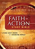 img - for NIV Faith in Action Study Bible: Living God's Word in a Changing World (New International Version) book / textbook / text book