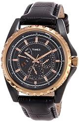 Timex E Class Analog Black Dial Mens Watch - T2N113
