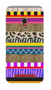 SWAG my CASE PRINTED BACK COVER FOR ASUS ZENFONE 6 Multicolor