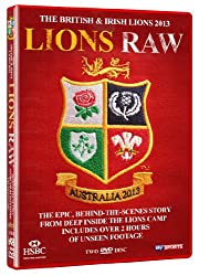 The British & Irish Lions 2013: Lions Raw (behind the scenes documentary) DVD