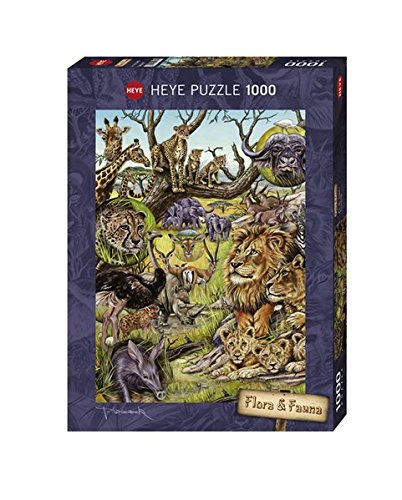 Heye-Savannah-1000-Piece-Marion-Wieczorek-Jigsaw-Puzzle