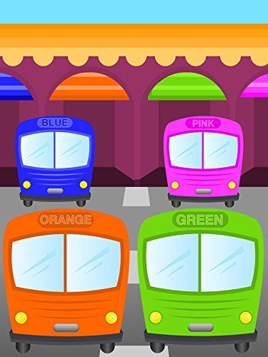 Colors for Children to Learn with Color Bus Toy