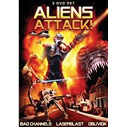 Aliens Attack! 3 Pack Set