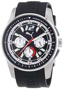 Puma Time Motorsport Herrenuhr RACE LUMINOUS CHRONO SILVER A.PU102161005