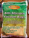 15 Kenmore Upright Allergen Filtration Cloth Vacuum Cleaner Bags for 50688 and 50690 - 15 Total Bags