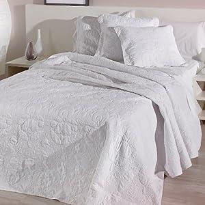 Sancarlos colcha bouti summer blanca 1 funda de - Colchas para camas de 150 ...