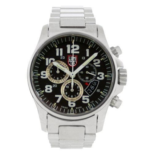 Luminox LU1842 Field Chrono Alarm 1800 Black Dial Bracelet Men's Watch