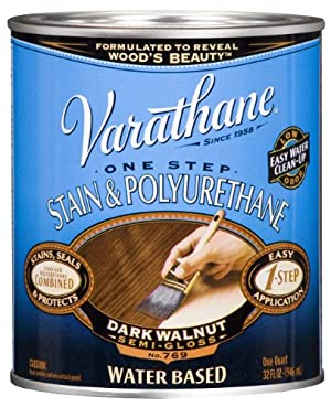 Rust-Oleum 239587H Varathane Water Based Stain and Polyurethane