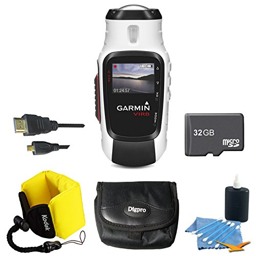 Why Choose Garmin VIRB Elite Action Camera 010-01088-10 Ultimate Bundle with 32GB Micro SD Card, HDM...