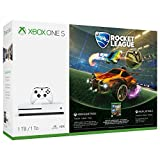 Xbox One S 1TB Console Rocket League Blast-Off Bundle (Color: White)