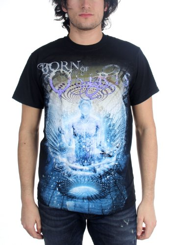 Born Of Osiris - Top - Uomo Nero  nero