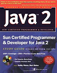 Book cover for Sun Certified Programmer & Developer for Java 2 Study Guide