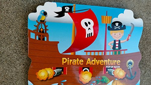 Pirate Adventure Pop-Up Board Book - 1