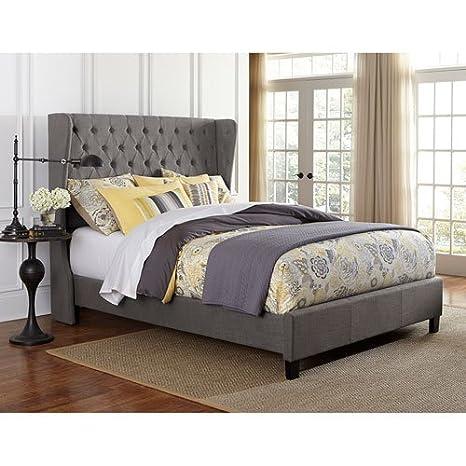 Hillsdale Furniture Crescent Queen Gray Bed Set
