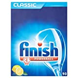 Finish Powerball Classic Lemon Sparkle 90 Dishwasher Tablets 1677g