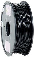 eSun PLA 3D Printer Filament, 3 mm Diameter, 1 kg Spool, Black from Shenzhen Esun Industrial Co., Ltd.