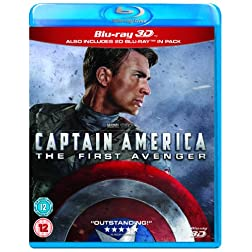 Captain America 3d [Blu-ray]