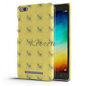 Koveru Designer Printed Protective Snap-On Durable Plastic Back Shell Case Cover for Xiaomi Mi 4i - Chain Pieces