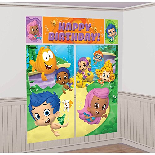 Bubble Guppies Wall Poster Decorating Kit (5pc) - 1