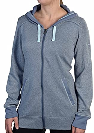 Columbia Sportswear AL6734 Women's Heather Honey III Hoodie Mercury/Skylight Size XS