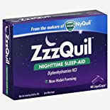Vicks ZzzQuil Nighttime Sleep Aid, LiquiCaps, 48 liquicaps