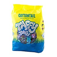 Taffy Town Cottontail Gourmet Salt Water Taffy, 2 Pound Bag (Assorted) (Easter)