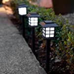 6er Set LED Solar Laterne Gartenleuch...
