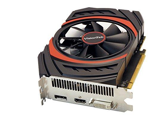 VisionTek Radeon R7 360 2GB GDDR5 3M (DVI-I, HDMI, DisplayPort) Graphics Card - 900806