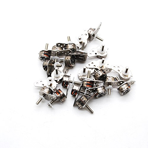 10Pcs 4 Wire 2 Phase Micro Stepper Motor D7Xh4Mm With A Small Division Bar For Camera