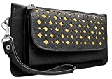 #3: Tap Fashion Fancy Stylish Elegant Synthetic Handmade Wallet/ Clutch/ Purse for Girls and Women.