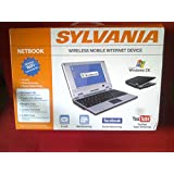 Digital Gadgets, LLC Sylvania Wireless Mobile Internet Device 7 inch Mini-Netbook Model#SYNET07526 (Windows CE)(3 USB ports) (Black Color version)