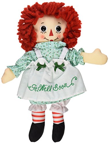 Aurora World Raggedy Ann Get Well Soon Doll, 10""