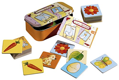 HABA Mini-Memo Card Game Board Game