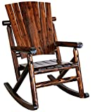 Leigh Country Single Rocker with Plain Back