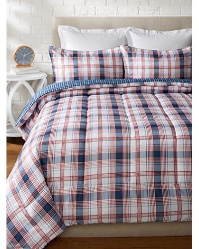 Eddie Bauer Sun Valley Plaid Comforter/Sham Set