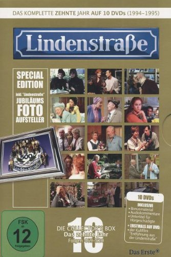 Lindenstraße - Collector's Box 10, Folgen 469-520 (Limited Edition) [Special Edition] [10 DVDs]