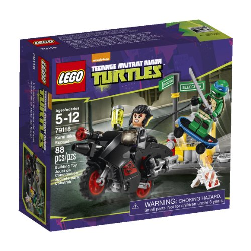 LEGO, Teenage Mutant Ninja Turtles, Karai Bike Escape Building Set (79118) - 1