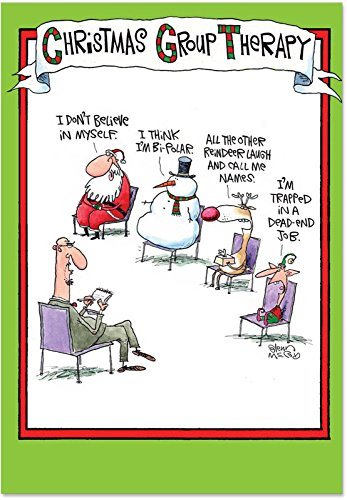 Merry Christmas Wishes Funny.Nobleworks Group Therapy Funny Merry Christmas Greeting Import It All