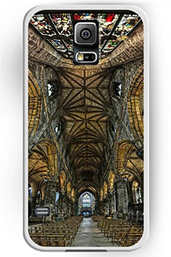 Sprawl New Fashion Design Ulak Luxury Hard Skin Samsung Galaxy S5 God-Fearing Prayerful Case Indoor Of Church
