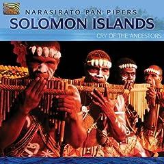 ソロモン諸島の音楽;先祖の咆哮 バンパイプ演奏