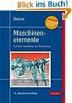 Decker Maschinenelemente: Funktion, G...